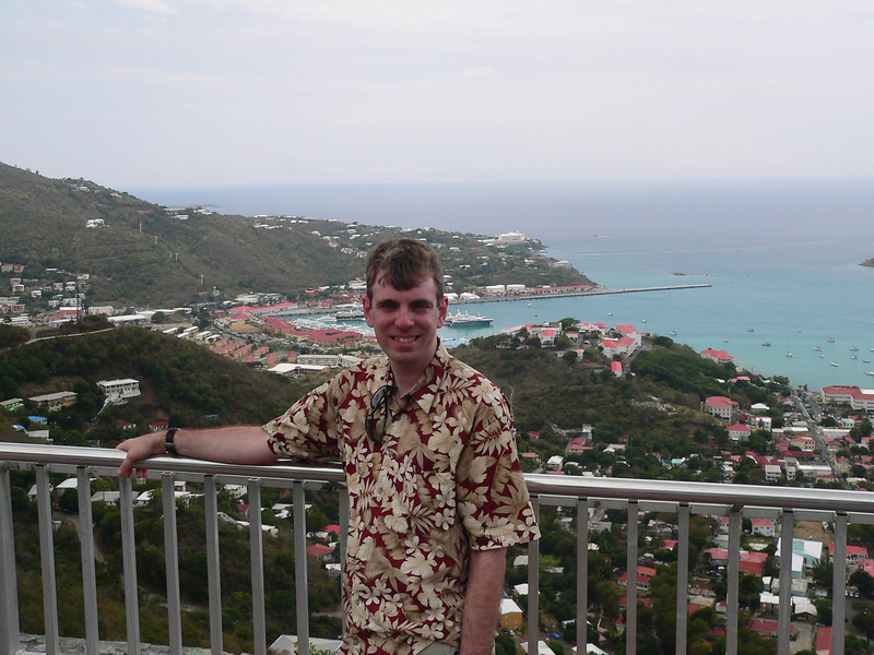 View's from the top of St. Thomas.