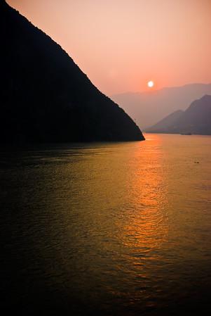 Three Gorges Sunrise