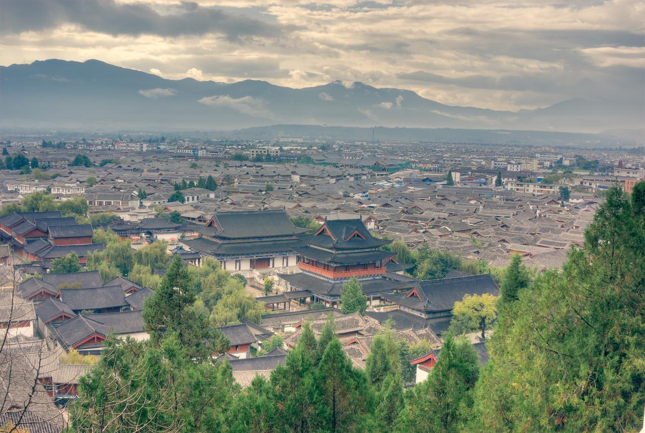 Lijiang Cityscape