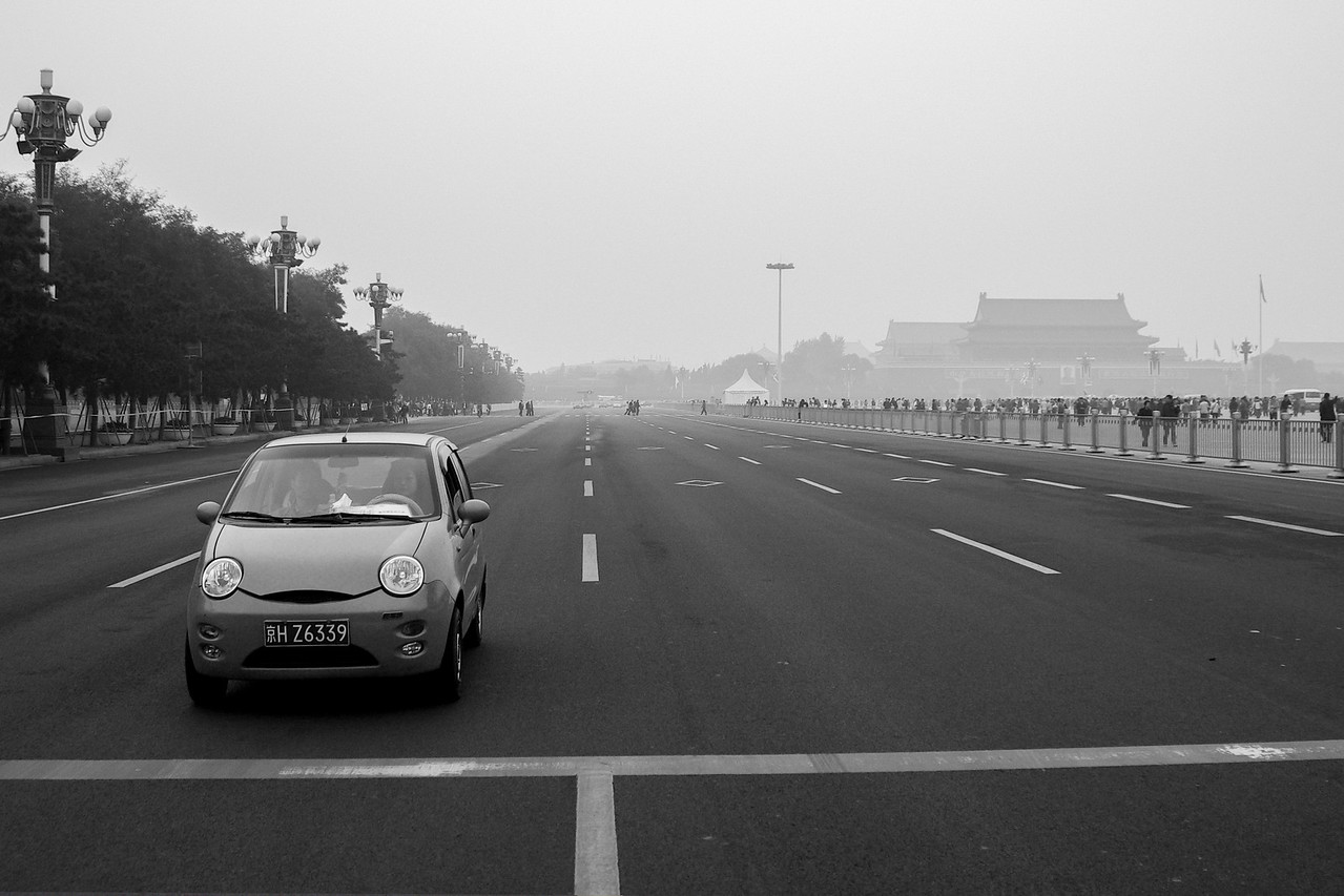 Tiananmen Square Traffic