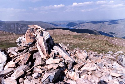 Mardale Ill Bell Summit : The View To Haweswater
