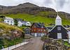 Faroe Islands-Bøur-Bíggjar church