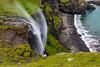 Faroe Islands-Vágar-Skardsafossar