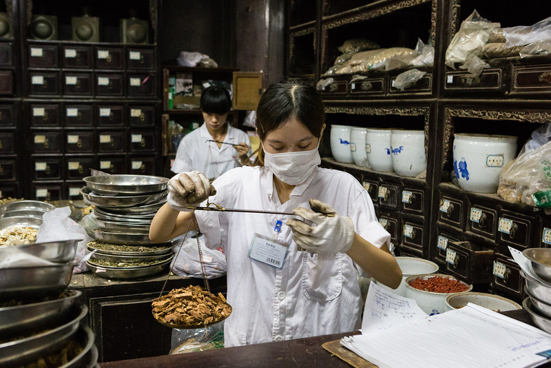 Traditional Chinese Medicine pharmacist
