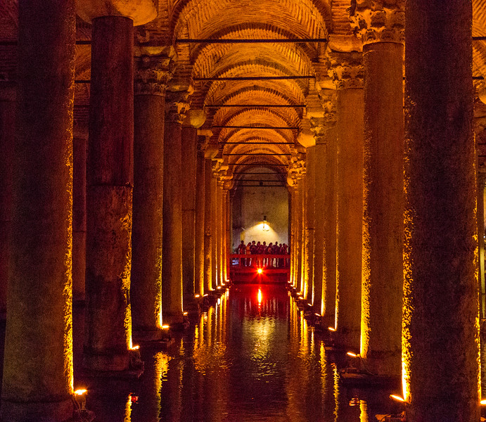 Cistern under the palace