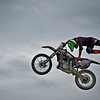 Dirt Bike Jumping and Sunts at Import Expo 2011