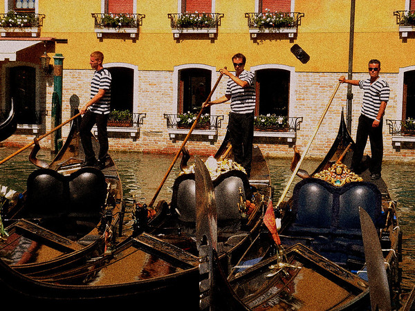 My rendition of the 3 Gondoliers! Beautiful when printed on canvas!