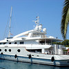 Another million dollar yatch in Split, Croatia.