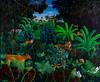 Belanda Animals in The Dreamtime (41x49 OC)
