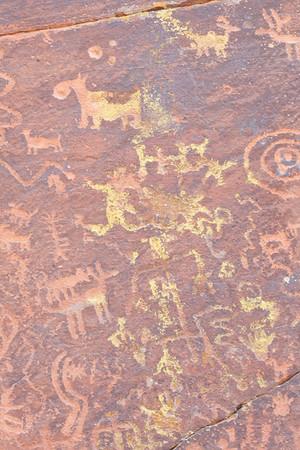 Montezuma's Castle, Oak Creek Canyon Overlook, Rock Art