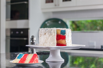 Flag Cake - July 2014-97