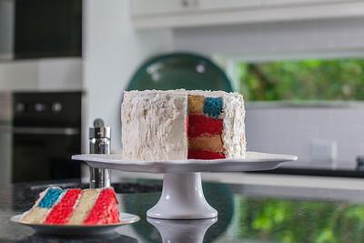 Flag Cake - July 2014-98