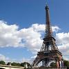 Travel Paris eiffel tower side