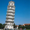 Exterior of the Leaning tower of Pisa 1173-1350 Pisa, Italy