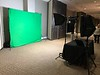 Green Screen Karaoke Setup Sideview