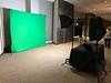 Green Screen Karaoke Setup Sideview