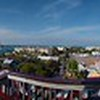 Panorama from the top of the Ship Wreck Museum in Key West