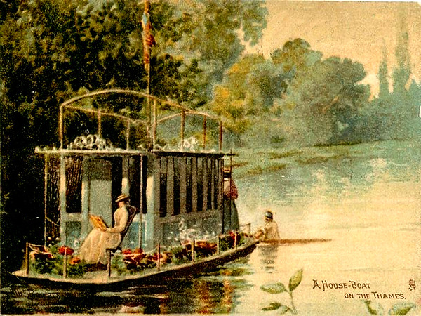 A House Boat on the Thames