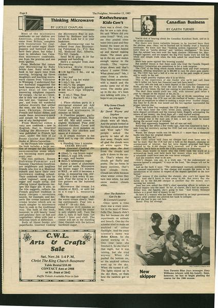 Freighter 1985 November 13.
