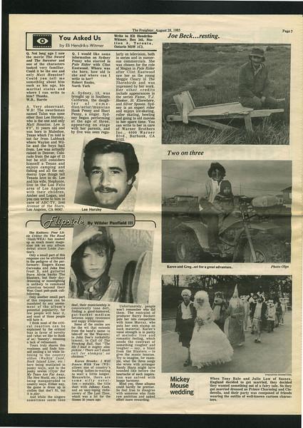 Freighter 1985 August 28. Joe Beck.