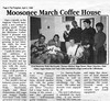 the Freighter 1996 April 3rd. Moosonee March coffee house, Bishop Belleau School raises funds for peace and development