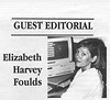 the Freighter 1996 May 8. Elizabeth Harvey Foulds guest editorial.