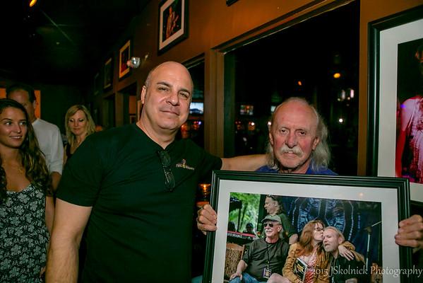 4/11 Butch Trucks visits Biscuit Roosevelt Collier/Oteil/Kofi Burbridge show 4/11/15
