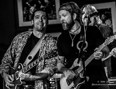 1/17/16 Devon Allman and Albert Casiglia at the Sunshine after party at the Funky Biscuit