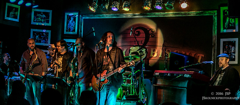 1/17/16 Dookie Shoe (Greg Allman's Band) plays the Funky Biscuit Sunshine After party 1/17/16