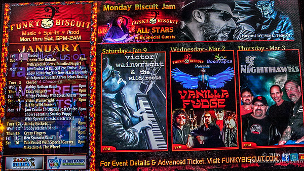 1/9/16 Victor Wainwright and the Wildroots at the Funky Biscuit