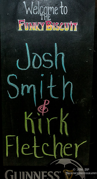 2/13/16 Josh Smith/ Kirk Fletcher at the Funky Biscuit