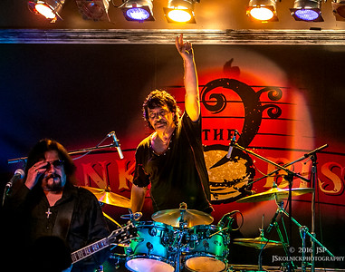 3/2/16 Vanilla Fudge Carmine Appice at the Funky Biscuit