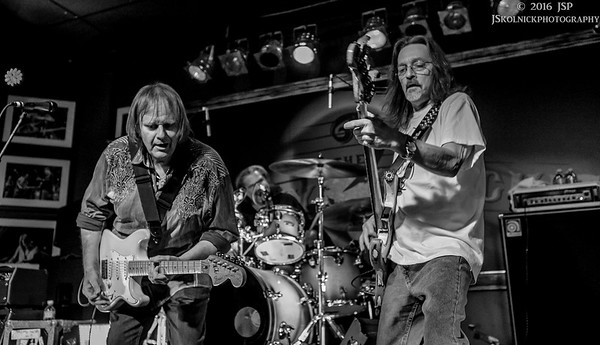 """4/8/16 Walter Trout Band with Mark """"Bumpy"""" Bumgarner and Walter's sons"""