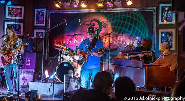 11/23/16 South Florida Musicians Asst with Crazy Fingers  at the Funky Biscuit