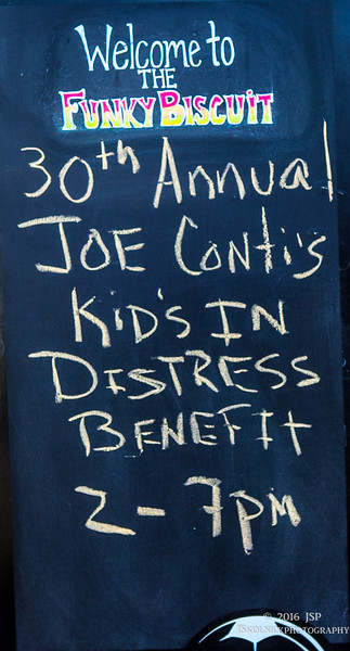 2/6/16 Joe Conti 3oth Kids in Distress Benefit at the Funky Biscuit