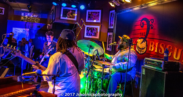 1/7/17 Victor Wainwright's band train at the Funky Biscuit feat Pat Harrington, Terrence Grayson and Billy Dean,