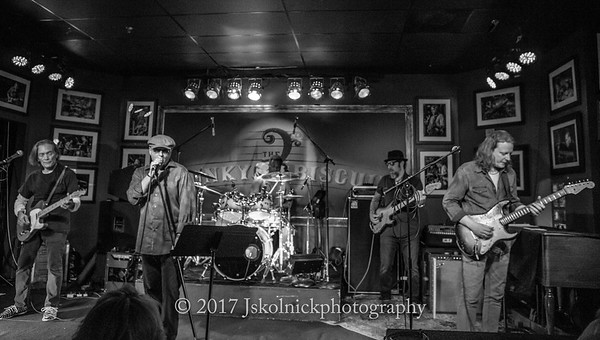 2/9/17 GE Smith with Matt Schofield Jonathan Joseph Jay Stollman Mark Telesca at the Funky Biscuit