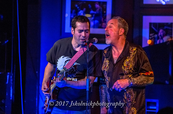 3/4/17 The Nighthawks at the Funky Biscuit with Albert Castiglia sitting in