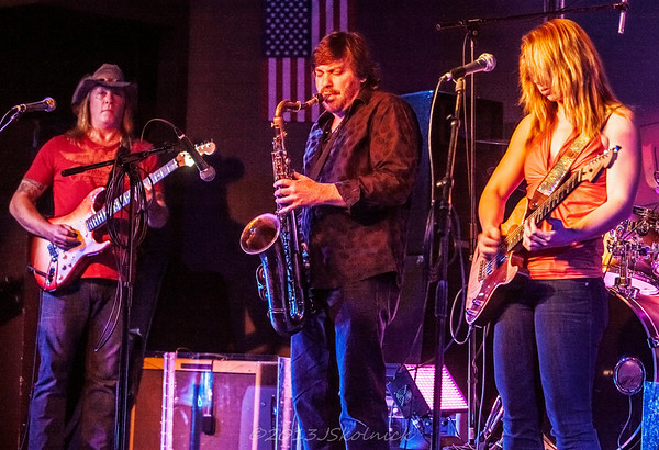 10/14/13 Monday Jam at the Funky Biscuit with David Shelley,  Drew Preston, Bob Grabau, JL Fulks, special guest Samantha Fish and more