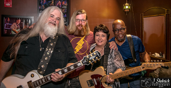 10/16/17 Mon Jam feat Rusty Wright Band Funky Biscuit
