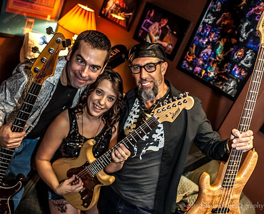 12/7/15 Mon Jam Delaney Guitar GreenRoom Fun with Danielle Nicole Mark Telesca and Albert Castiglia at The Funky Biscuit