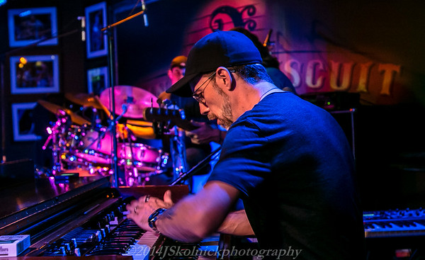 2014 12/29 Mon Jam at the Funky Biscuit with special guest John Ginty  and Albert Castiglia along with Rich Freidman, Livingston, Brian Jones, Drew Preston, Jimmy Powers, Charles Gaspar, Liz Sharp, and more