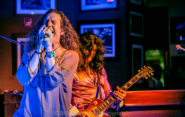 """2014 7/21 """"Page and Plant"""" Led Zep Tribute Band at the Monday Jam at The Funky Biscuit"""