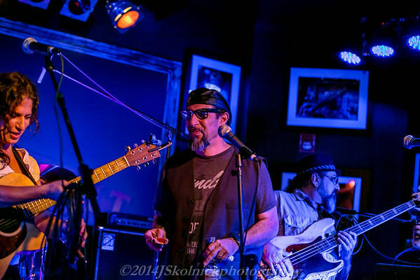 2014  8/4 Monday Jam at the Funky Biscuit with Mark Telesca and friends, Sista Marybeth, David Shelley, and many more