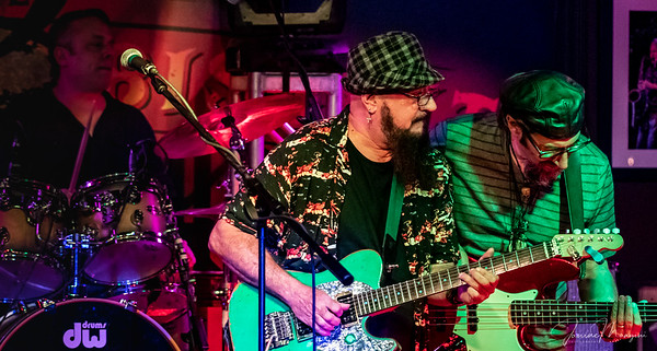 2018.8.20 Funky Biscuit Monday Night feat artist  Jimi Fiano by Janine Mangini