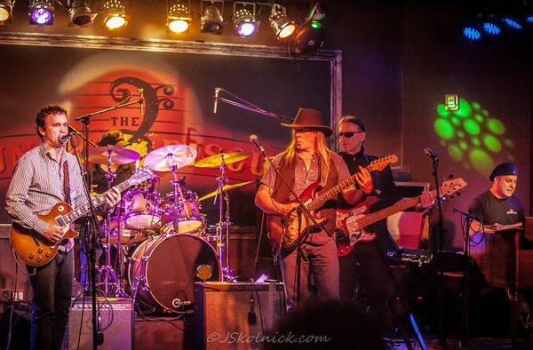 3/25/13 Monday Jam at the Funky Biscuit with David Shelley and Eric Culberson