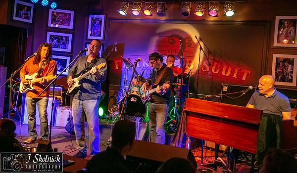 4/9/18 Mon Jam Biscuit AllStars, Mark Telesca, Drew Preston, Richie Schmidt, Antony Livoti, Tom Regis with Albert Poliak