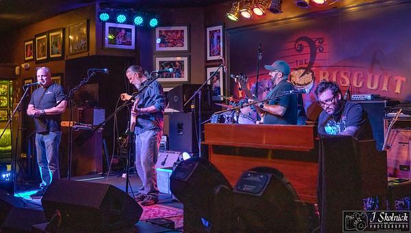Funky Biscuit Allstars Drew, Richie, Antony, with Patrick Farinas and Richie Goldman Mon Jam 7-2-18 by jskolnickphotography