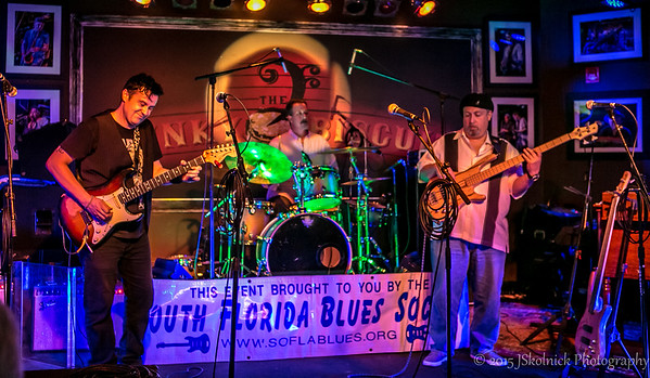 5/24/15 Guitar Showcase 1 So Fla Blues Society  at Funky Biscuit