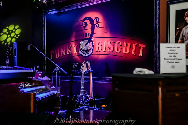 The Funky Biscuit performances 2014